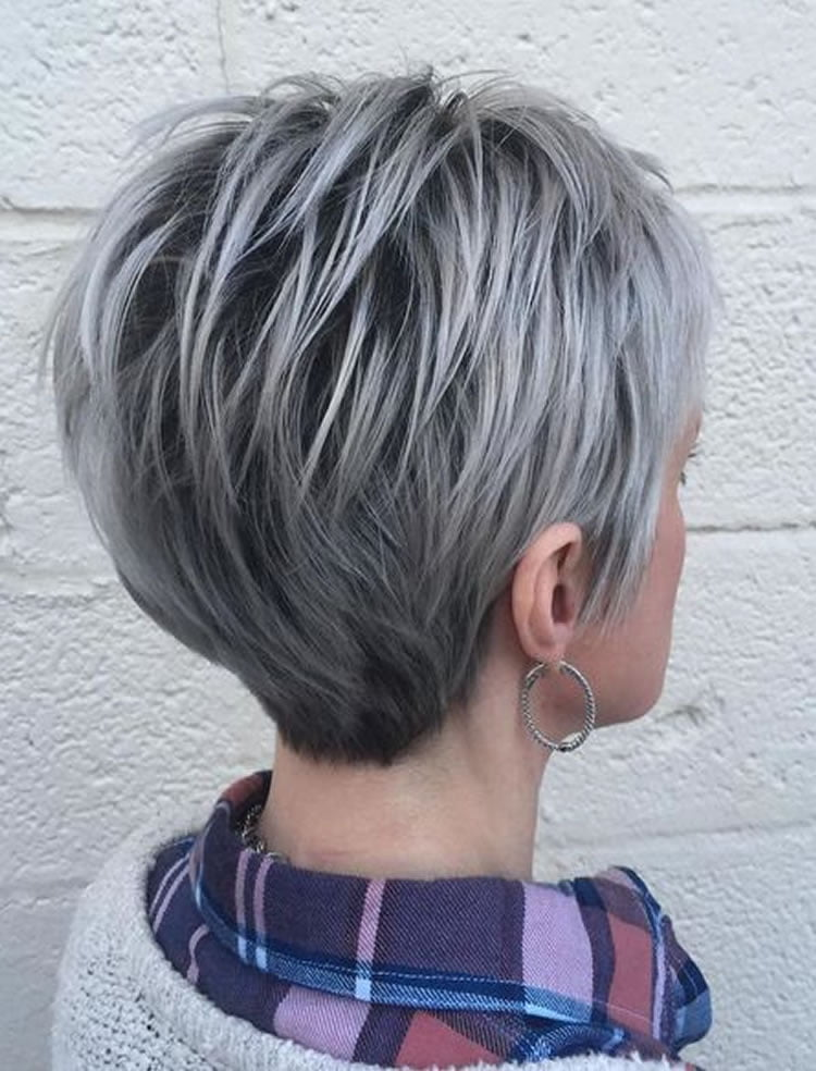 The 32 Coolest Gray Hairstyles For Every Lenght And Age Hairstyles