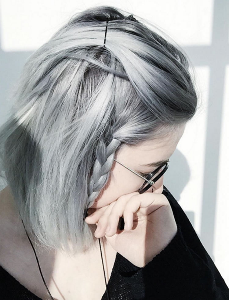 32 Coolest Gray Hairstyles for Women 2020 Update ...