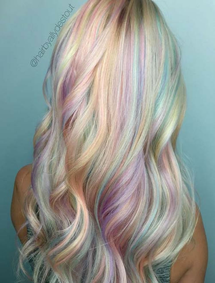 51 Colorful Hairstyle Tutorials For Charming Ladies 2020