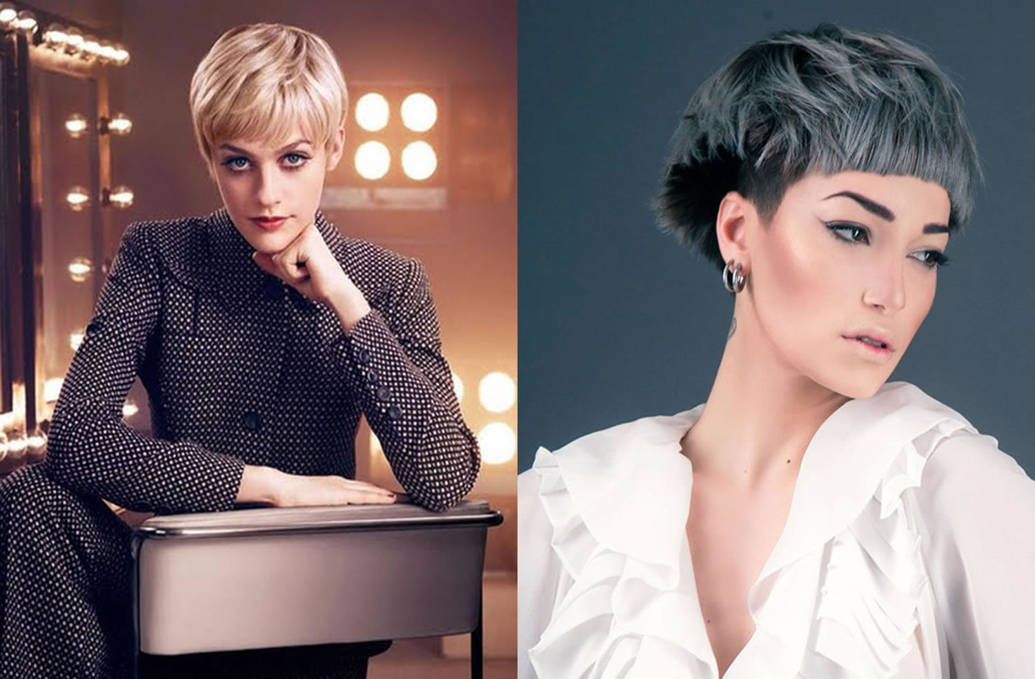Short haircuts for Women 2017-2018