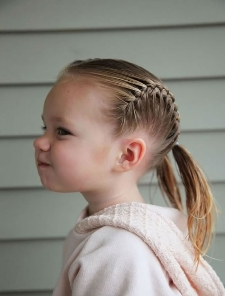 54 Cute Hairstyles for Little Girls in 2020   Mothers ...