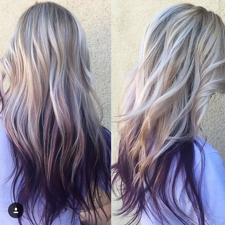 Multicolored And Natural Hair