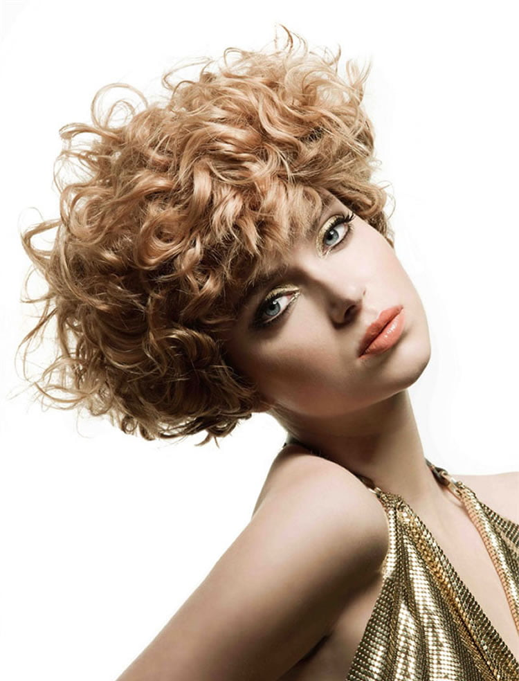 short haircuts for women with curly hair 30 most magnetizing curly hairstyles for to 1750 | Updo Short Curly Haircuts for Round Faces