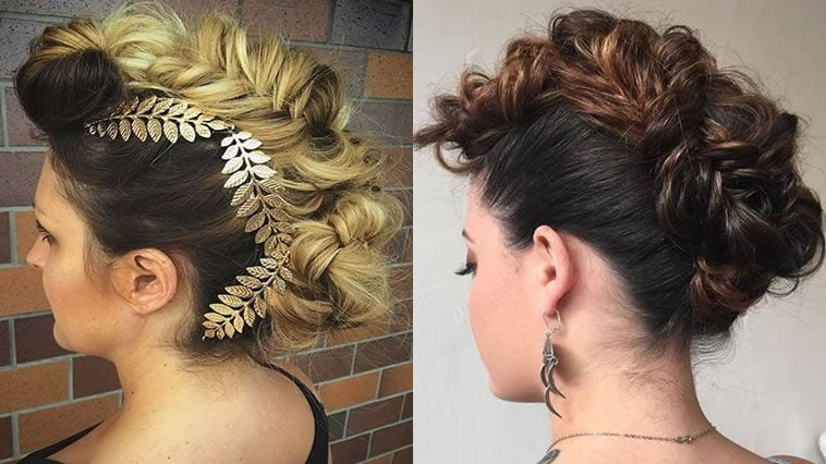 2017 Mohawk Hairstyles for women