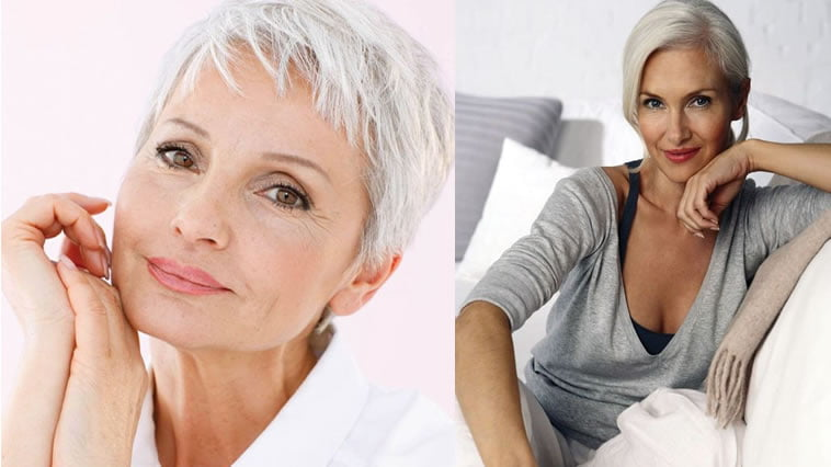 2018 Short Haircuts and Hairstyles for Older Women Over 60