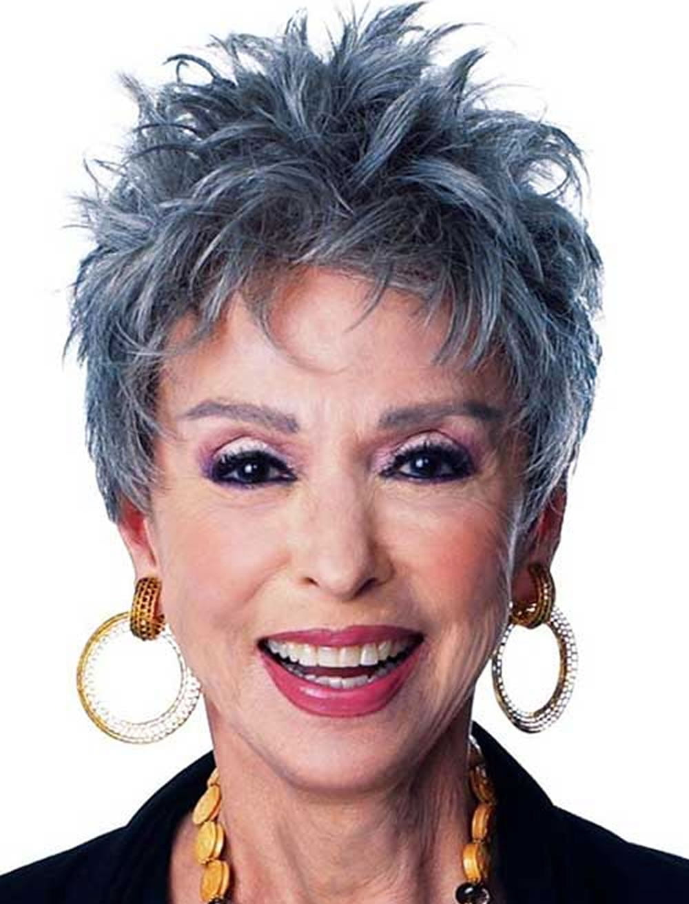 Beautiful Gray Pixie Haircuts For Women Over 60