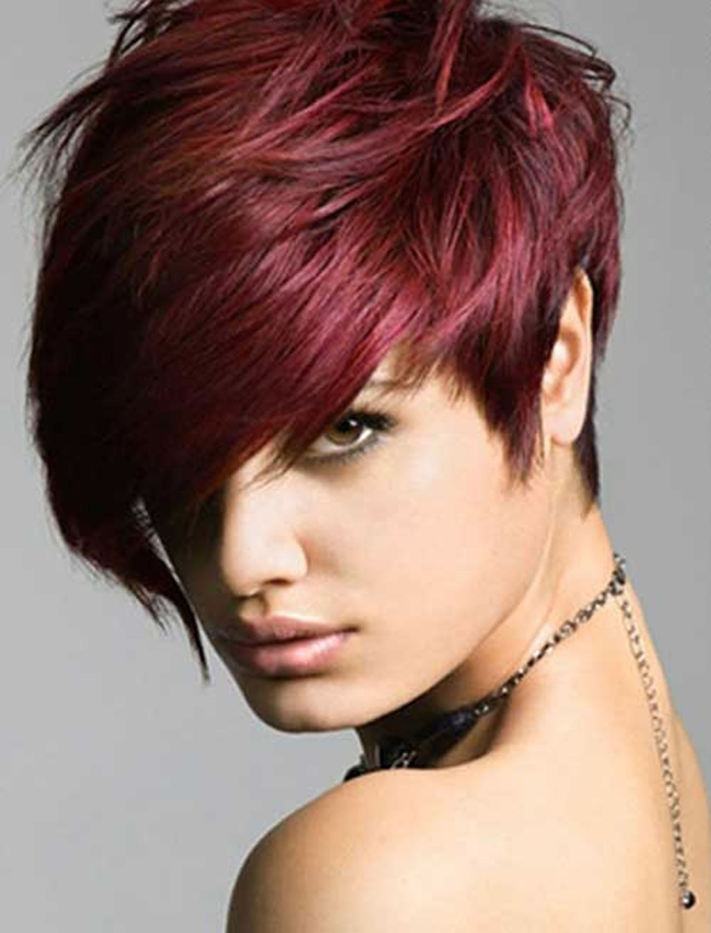 Red Hair Color For Short Hairstyles 27 Cool Haircut Tutorial For