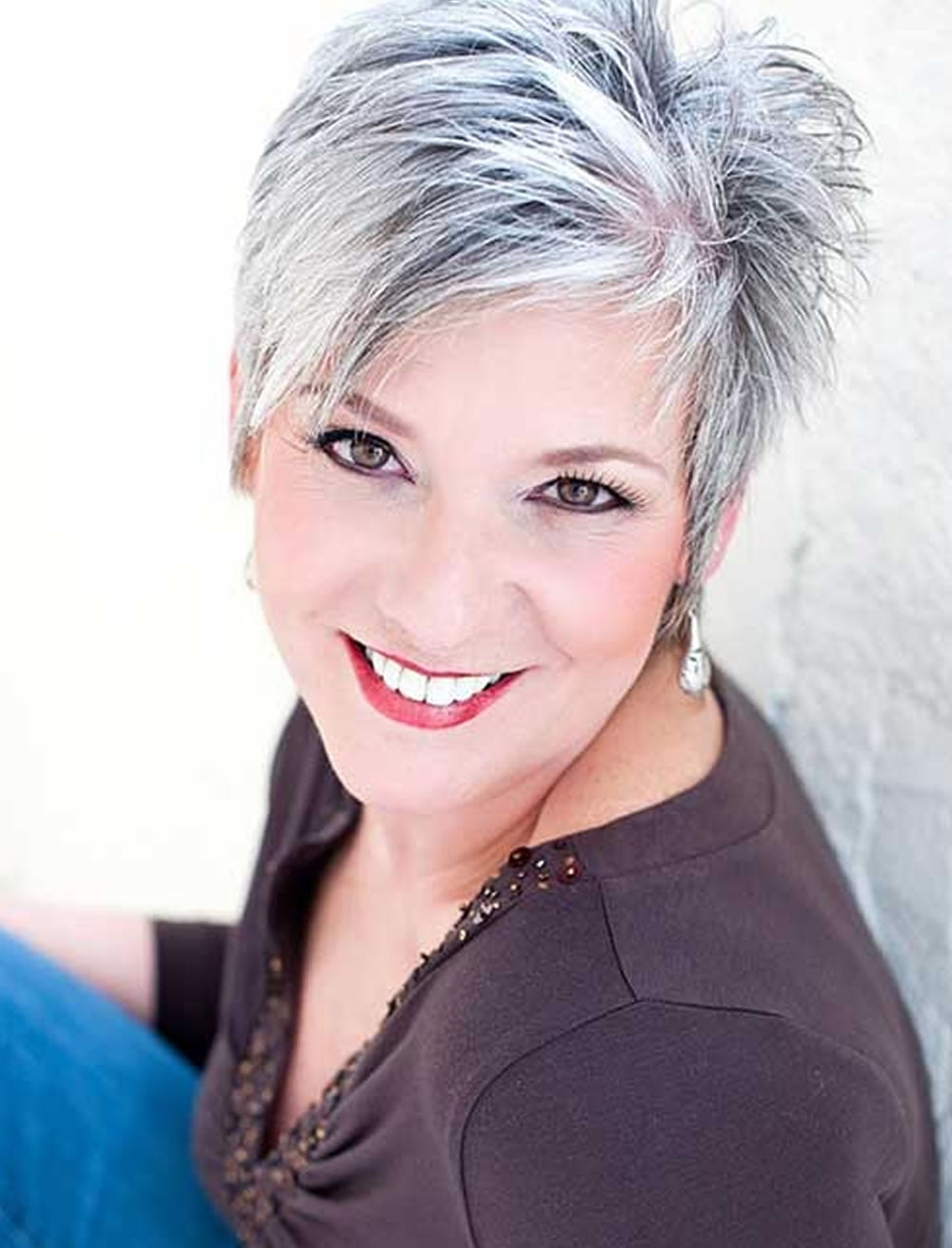 33 Top Pixie Hairstyles For Older Women Short Pixie