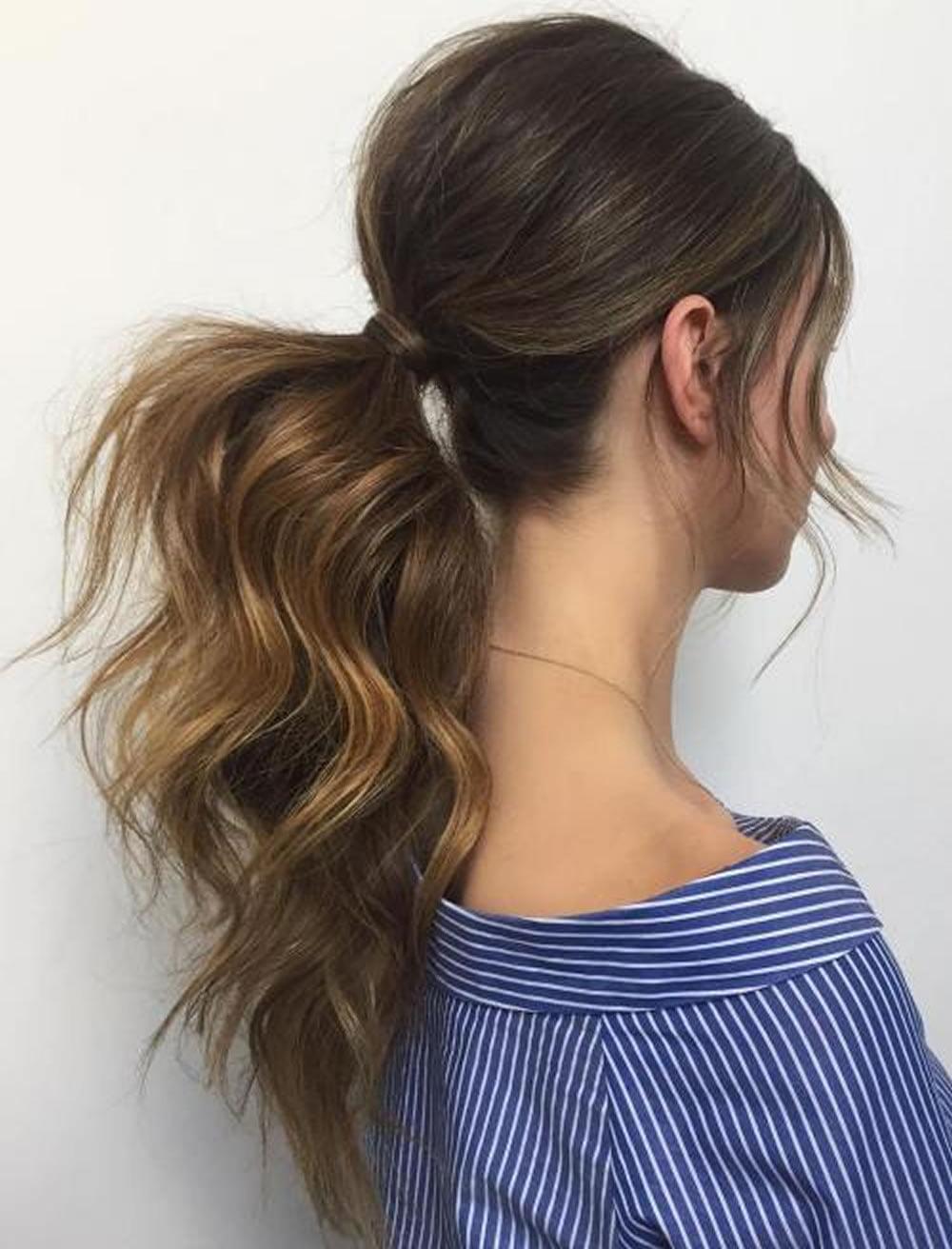 Ponytail Hairstyles 2017-2018