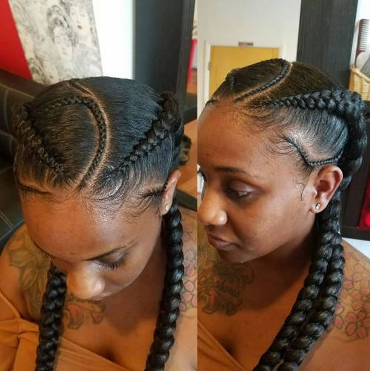 25 Incredibly Nice Ghana Braids Hairstyles For All
