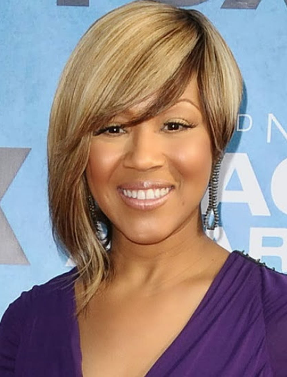 Side Long Side Swept Bob Hairstyles For Black Women Hairstyles