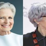 2018 Short Hairstyles for Older Women