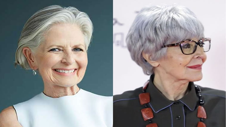 2018 2019 Short And Modern Hairstyles For Stylish Older Ladies Over