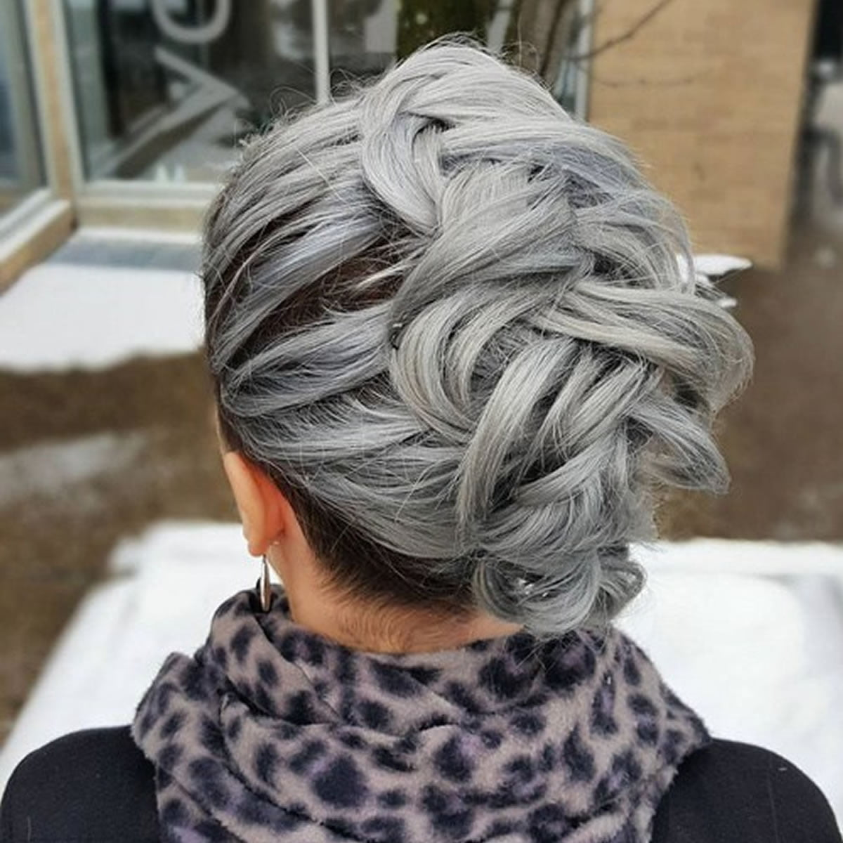 best gray hairstyles