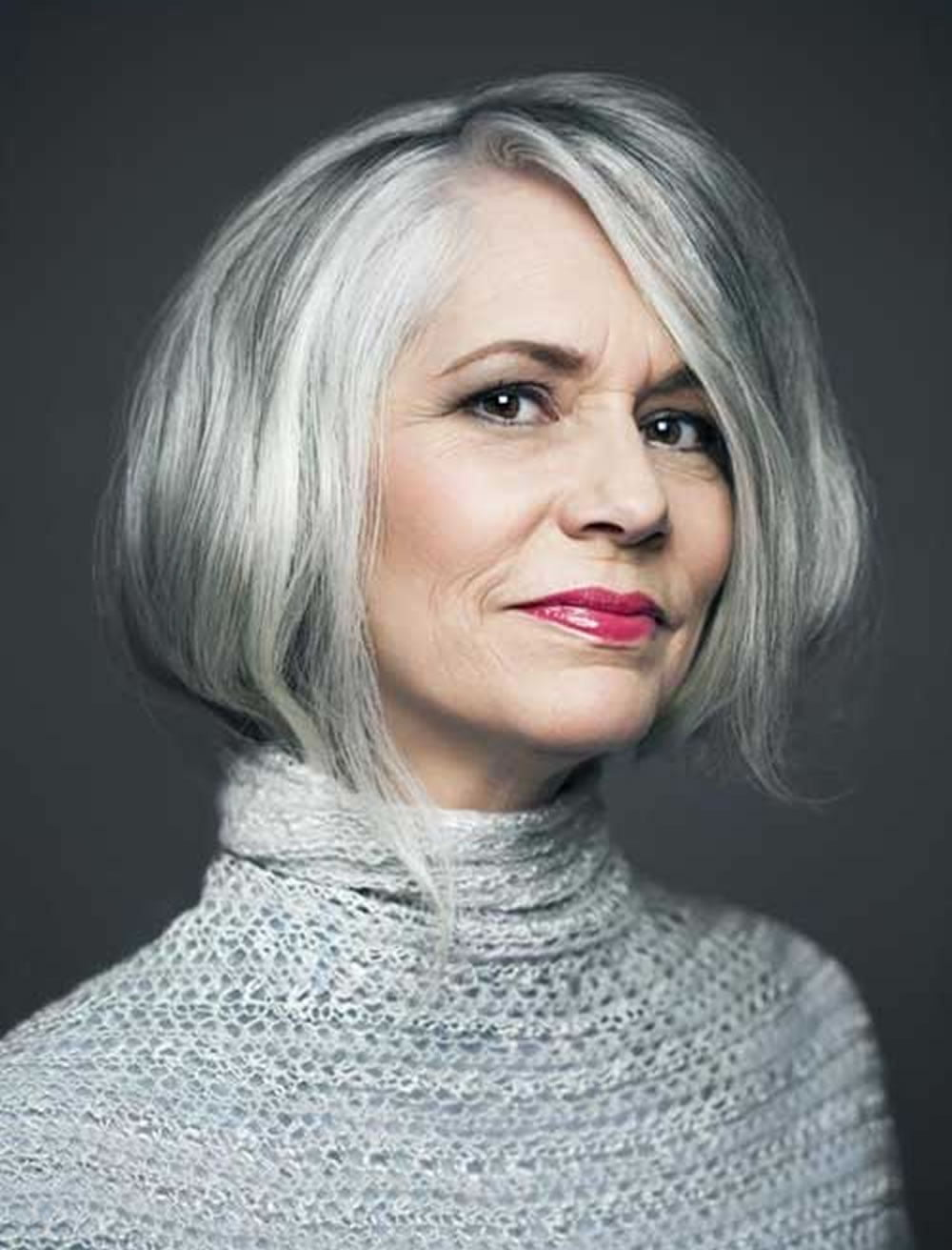 Short Haircut for Older Women 2018
