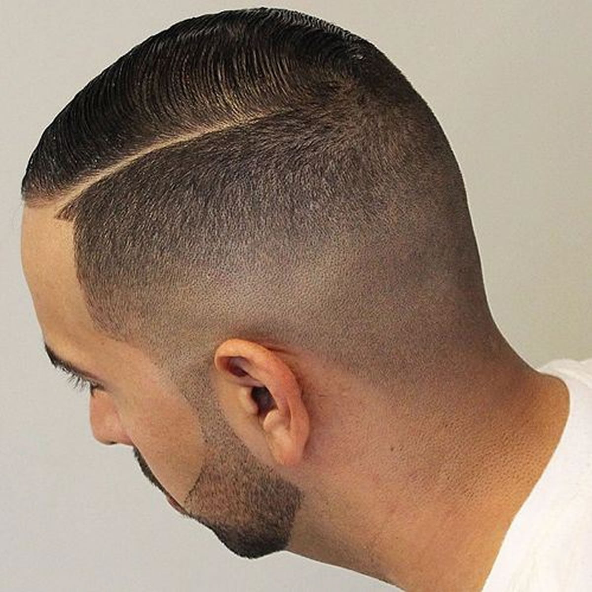 Engaging Side Parted Fade 2018 Short Haircuts For Men For