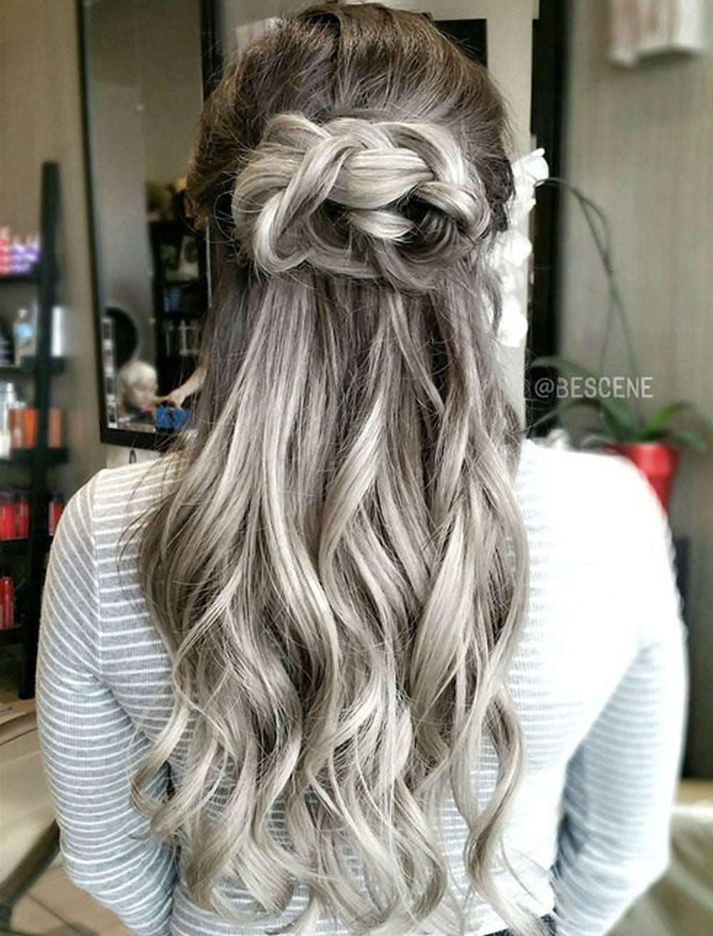 Grey Hair Trend – 20 Glamorous Hairstyles for Women 2018 ...