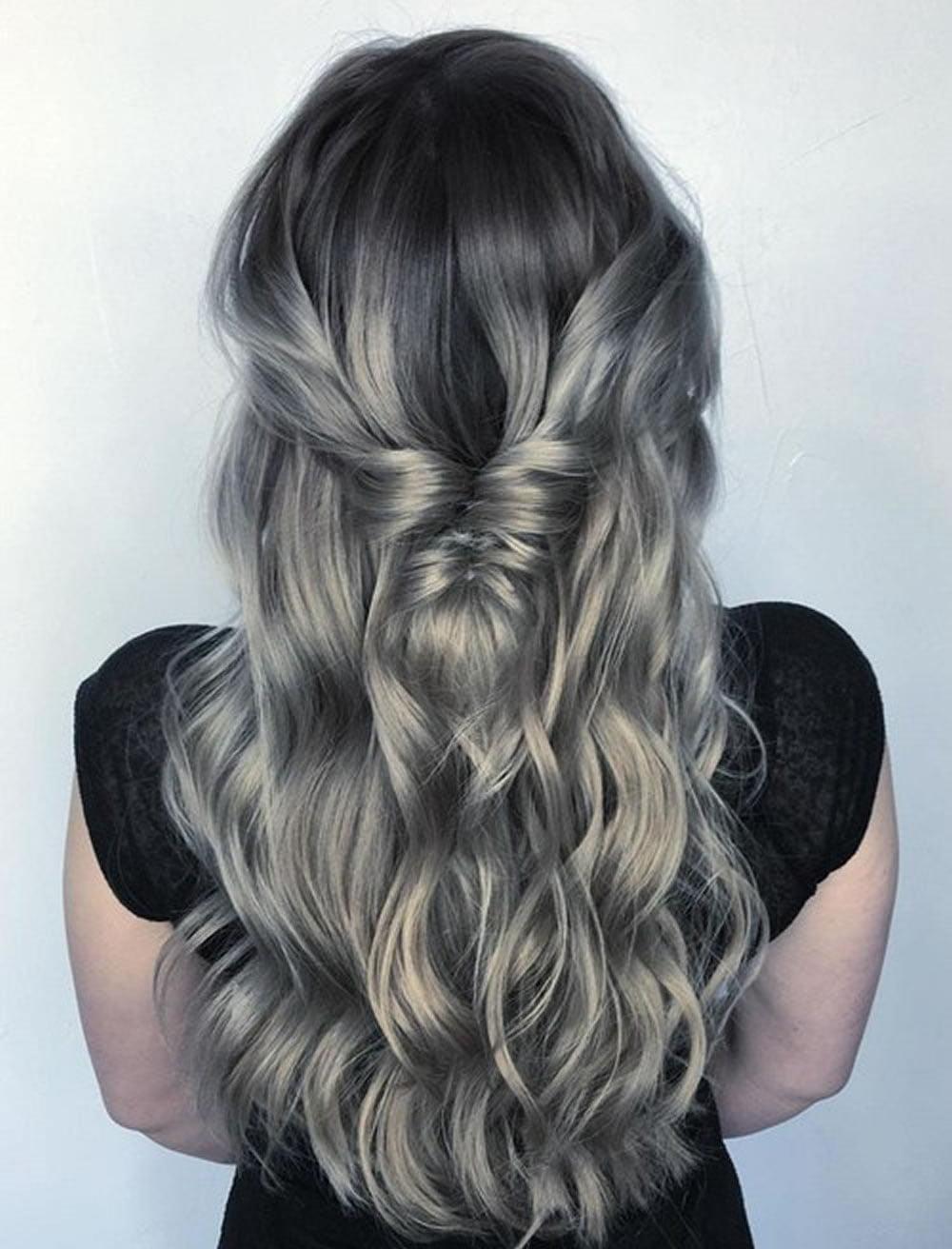 Grey Hair Trend – 20 Glamorous Hairstyles for Women 2020 ...