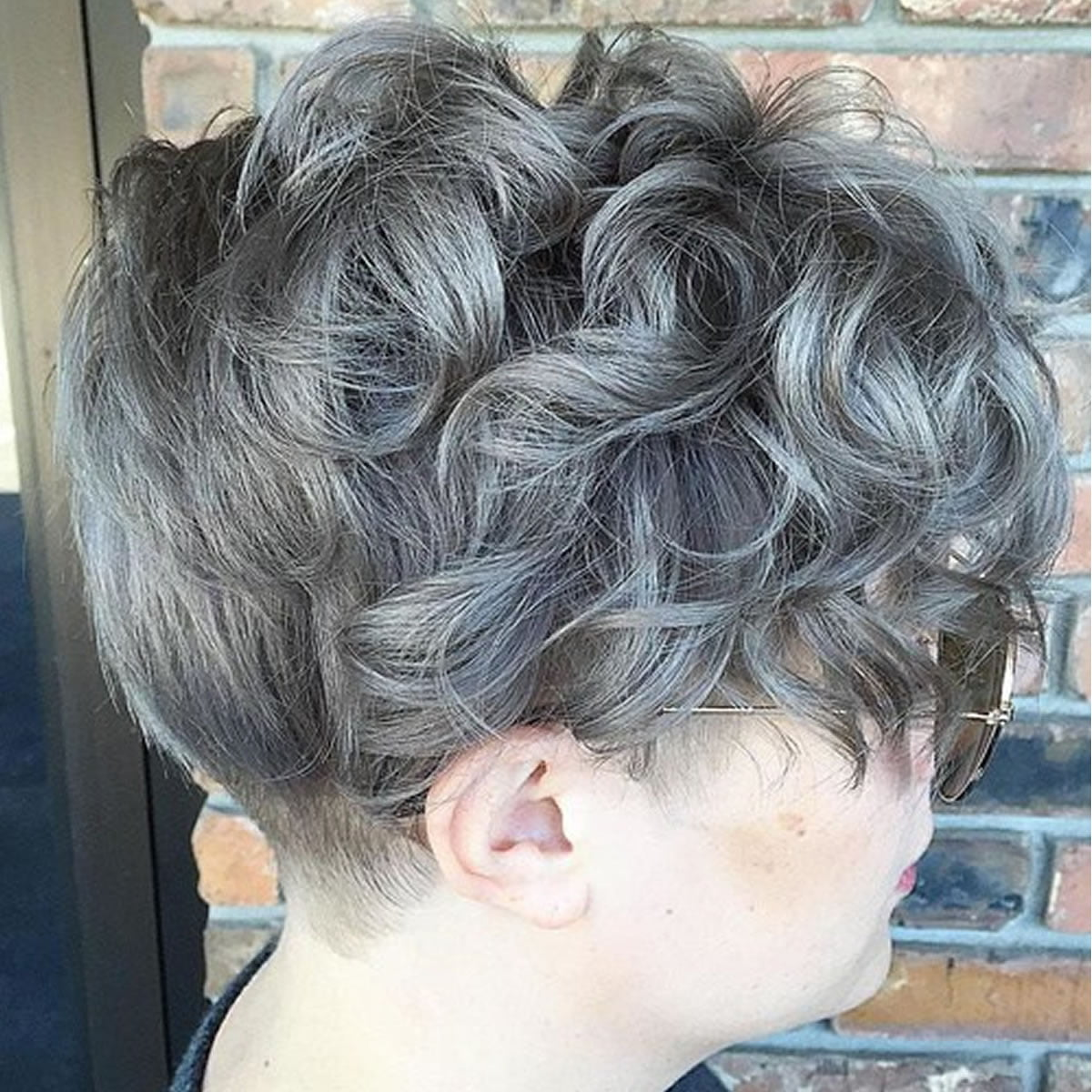 Short Grey Curly Hairstyles 2018 Hairstyles