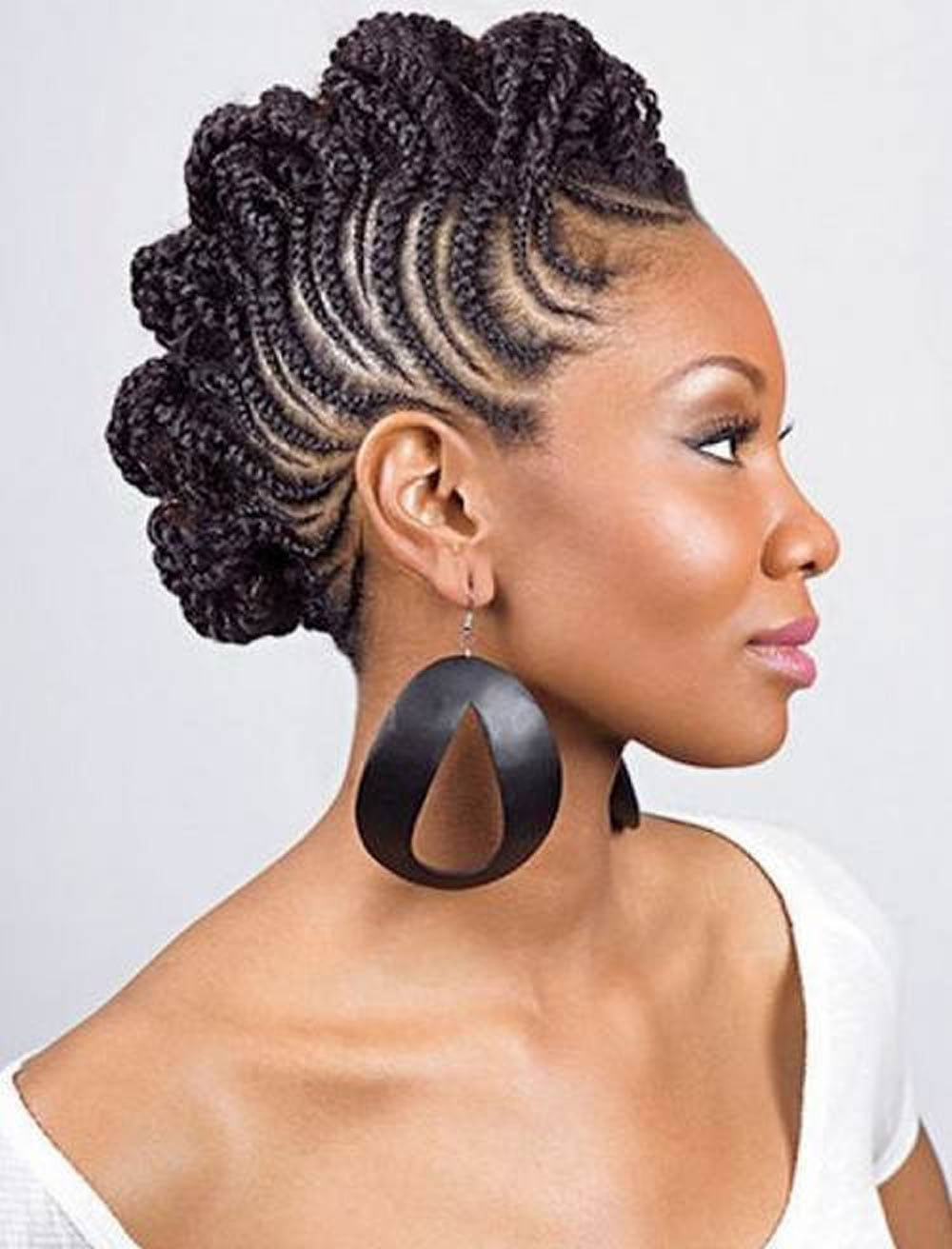 braid styles for black hair 20 best american braided hairstyles for 2017 2098
