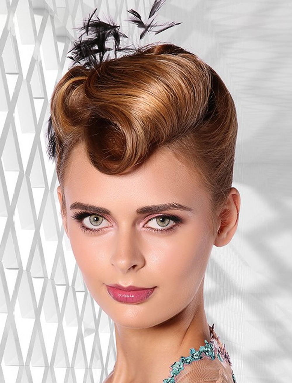 32 Perfect Updo Hairstyles for Prom 2017-2018 | Round ...