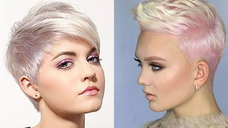 Short Hairstyles For 2019: Trend Short Haircuts For 2018-2019 Best Pixie Hair Ideas