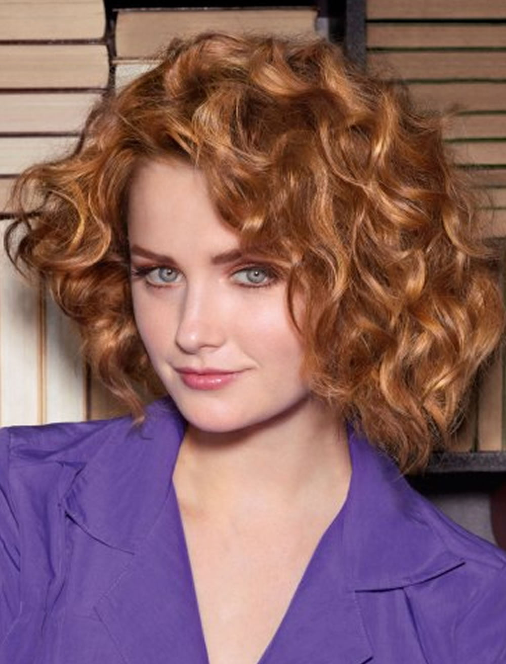 Brown Curly Bob Haircuts for 2017-2018