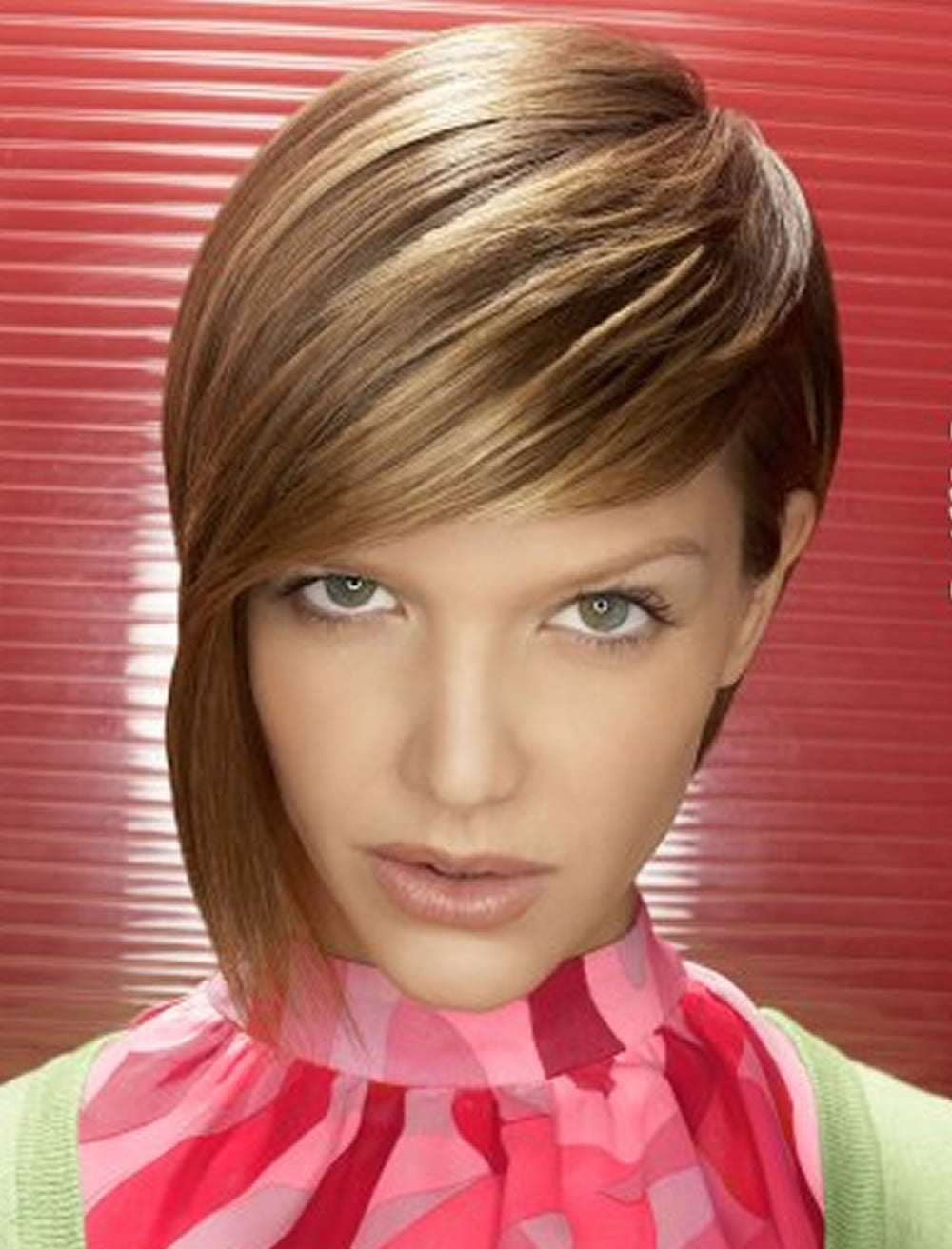 Chic Long Side Bob Haircuts for Long Faces