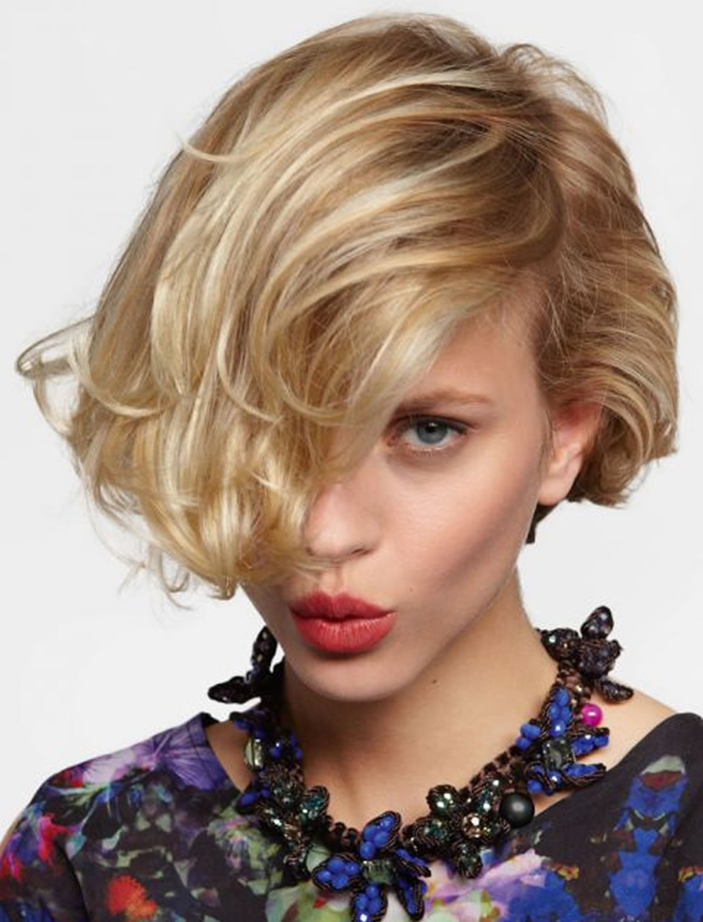One Side Long Bob Haircuts for Women 2018