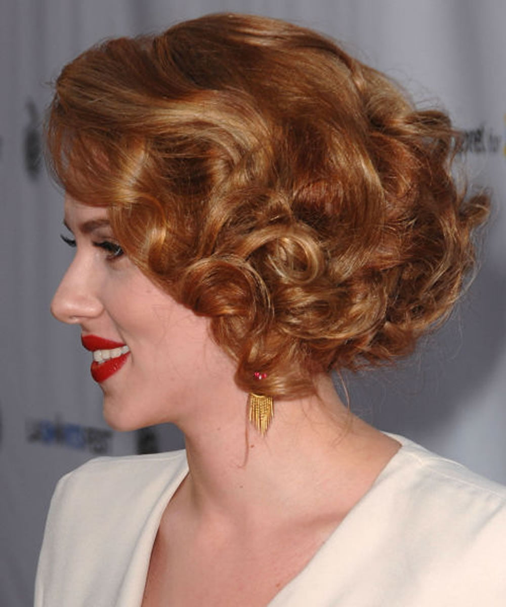 22 Glamorous Curly Hairstyles and Haircuts for Women - Short+Long+Medium - Page 3 - HAIRSTYLES