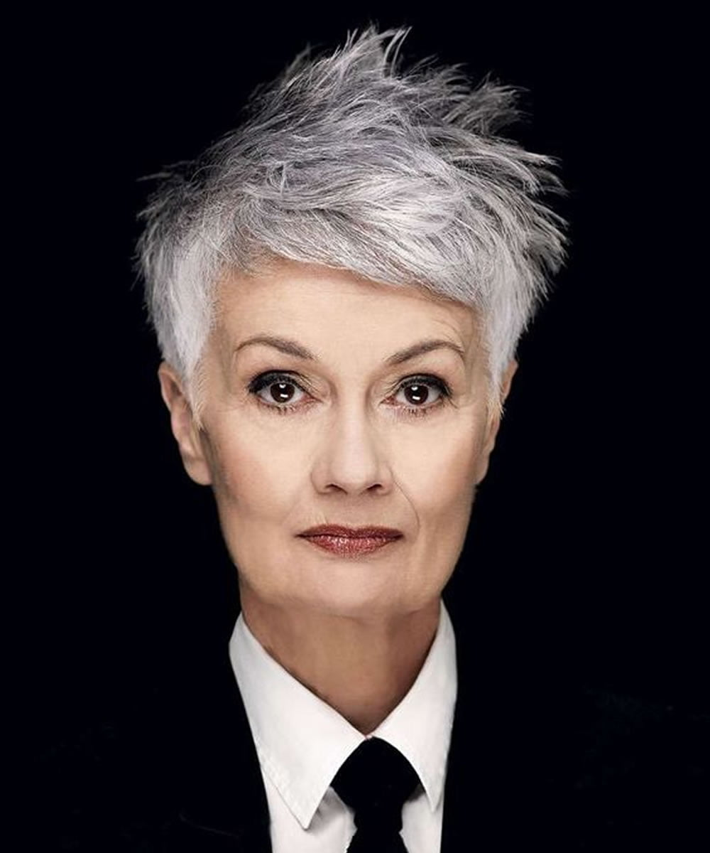 Short Grey Hair Ideas For Older Women 2018 Hairstyles