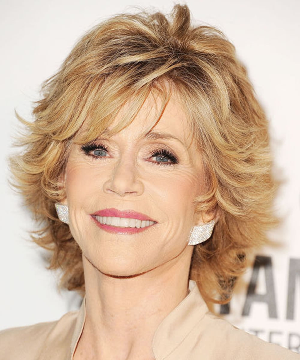 Short Wavy Hairstyles For Older Women Over 50 Hairstyles