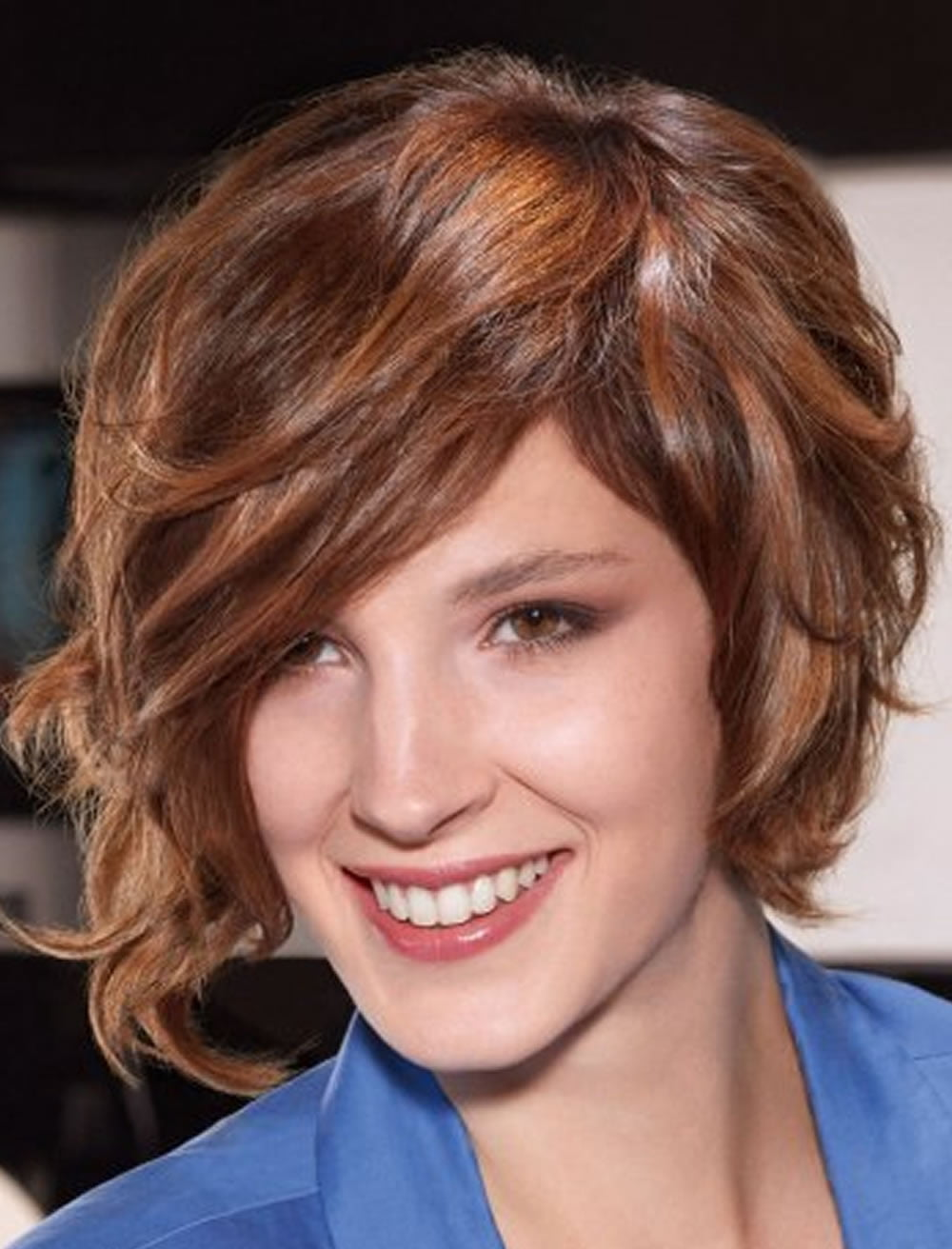 Wavy Bob Haircuts for Long Faces