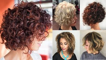Curly Bob Hairstyles for Women Autumn Winter Short Hair 2017-2018