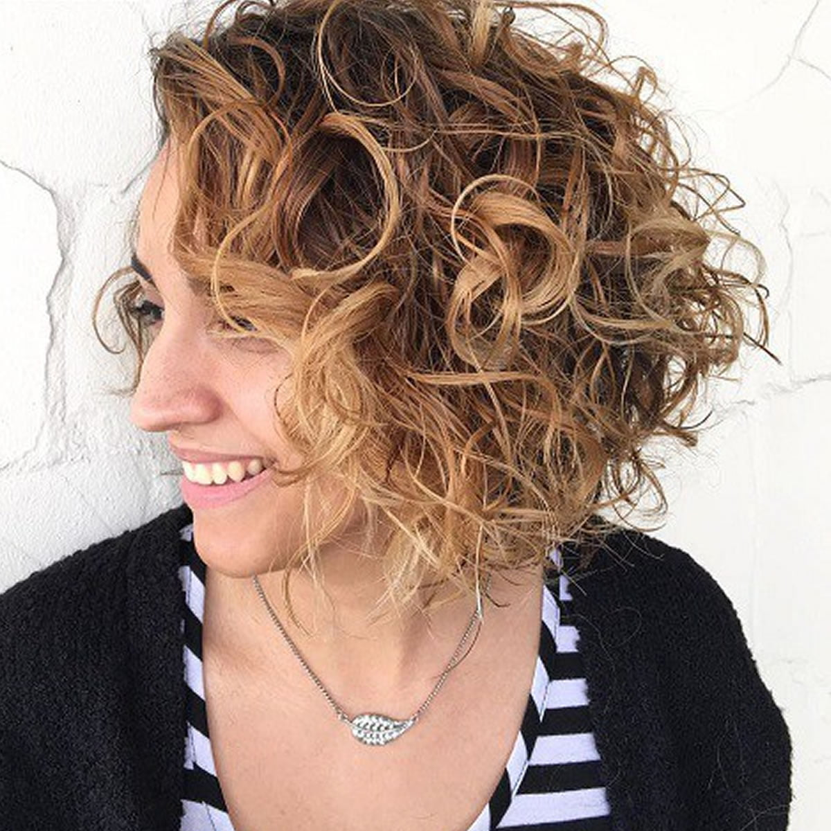 curly bob hairstyles for women autumn & winter short hair 2017
