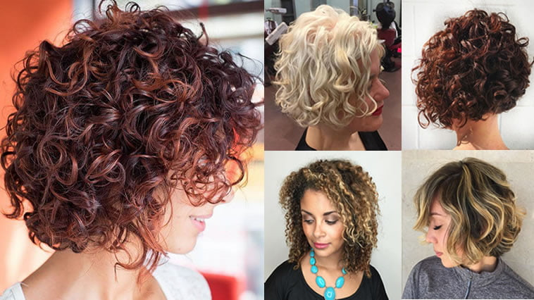 Curly Bob Hairstyles For Women Autumn & Winter Short Hair
