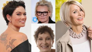 Hairstyles and Haircuts for Older Women Over 40 for 2018-2019