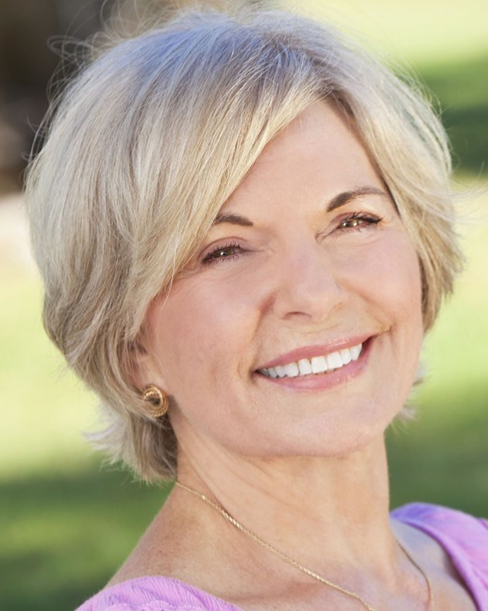best short hairstyle over 60