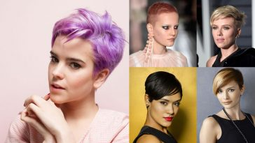 Pixie Haircuts for Business Women 2018-2019