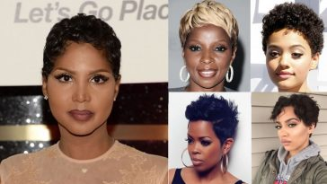 Pixie Short Hairstyles for Black Women 2018-2019