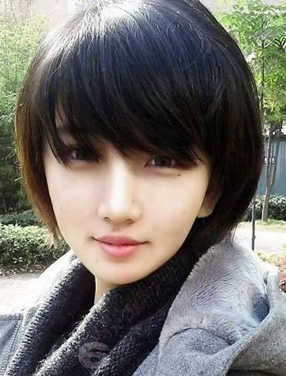 Korean Girl Hair Short