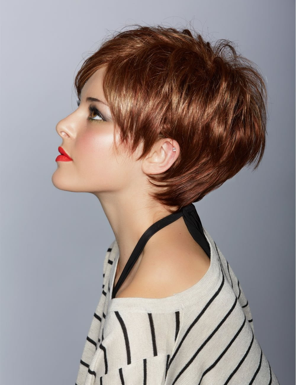 Latest winter hairstyles with short hair Short haircuts for women pics