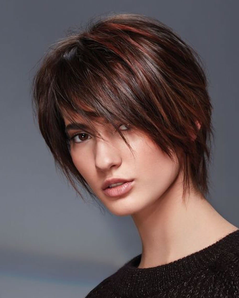 hey ladies! best 13 short haircuts for round faces inspirations