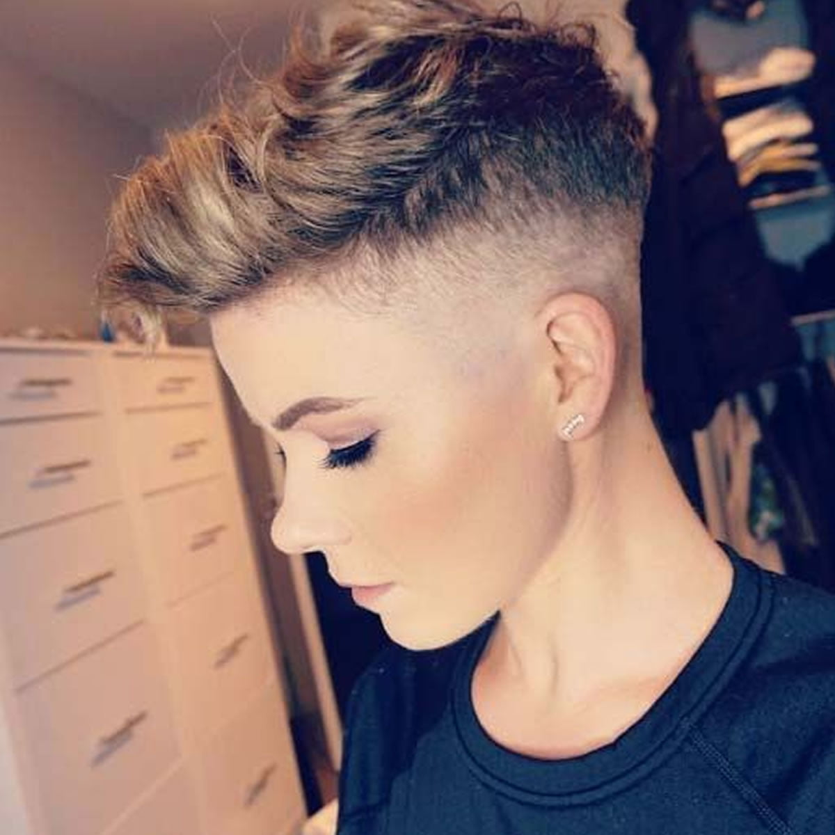 30 Glowing Undercut Short Hairstyles For Women Hairstyles