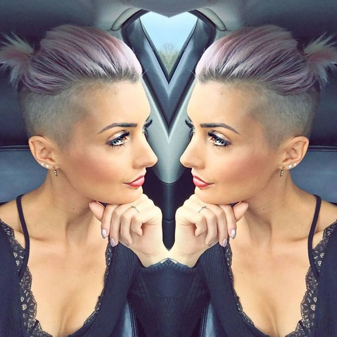 Undercut Short Hairstyles for Women