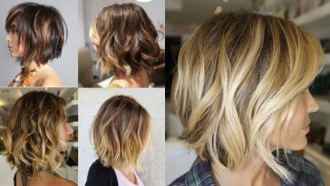 2018 Balayage Ombre Bob Haircuts and Hairstyles
