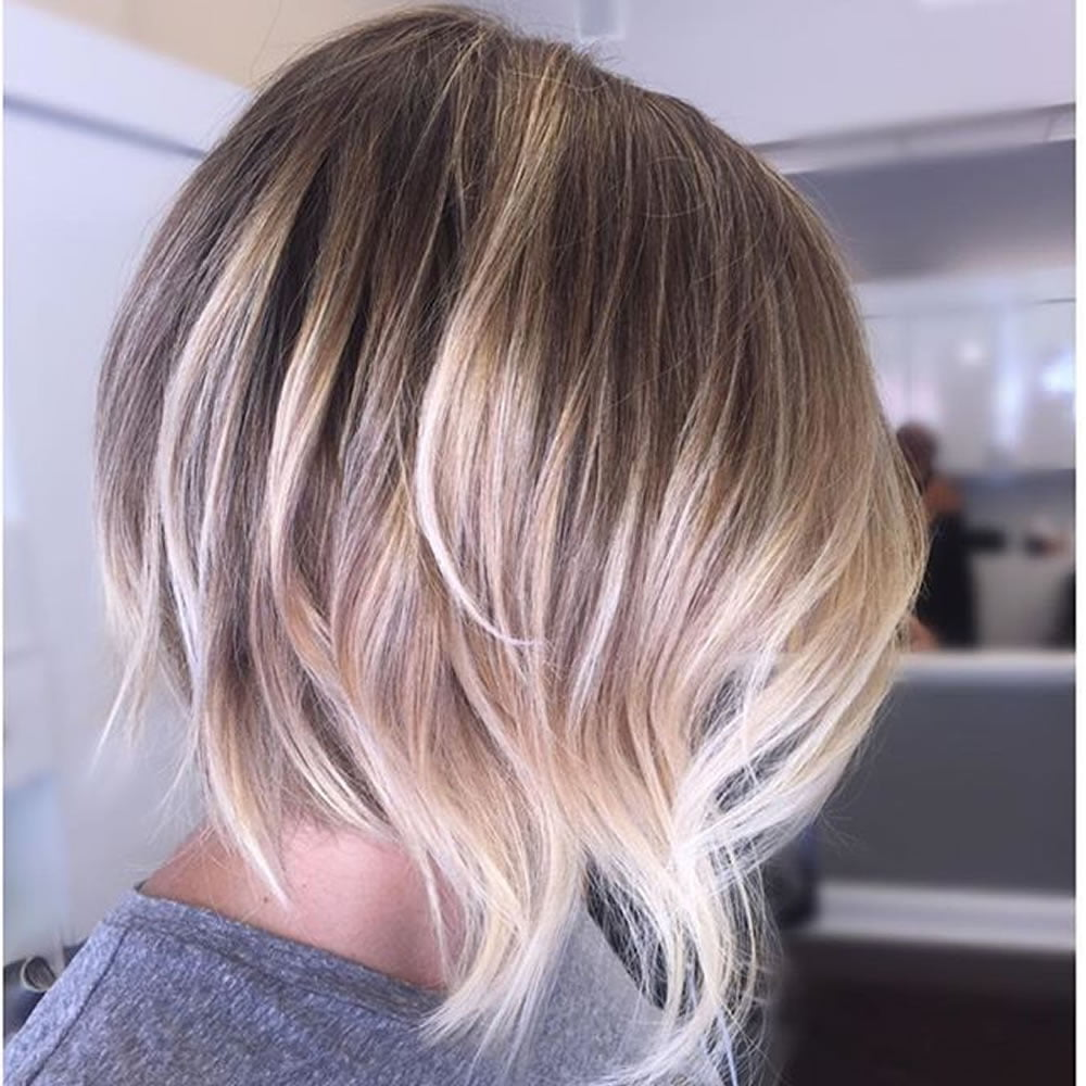 2018 Balayage Ombre Bob Haircuts and Hairstyles – Page 2 – HAIRSTYLES