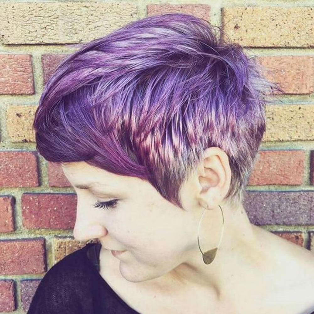 24 Chic Highlights For Short Hair Pastel Hair Colors For 2018 2019