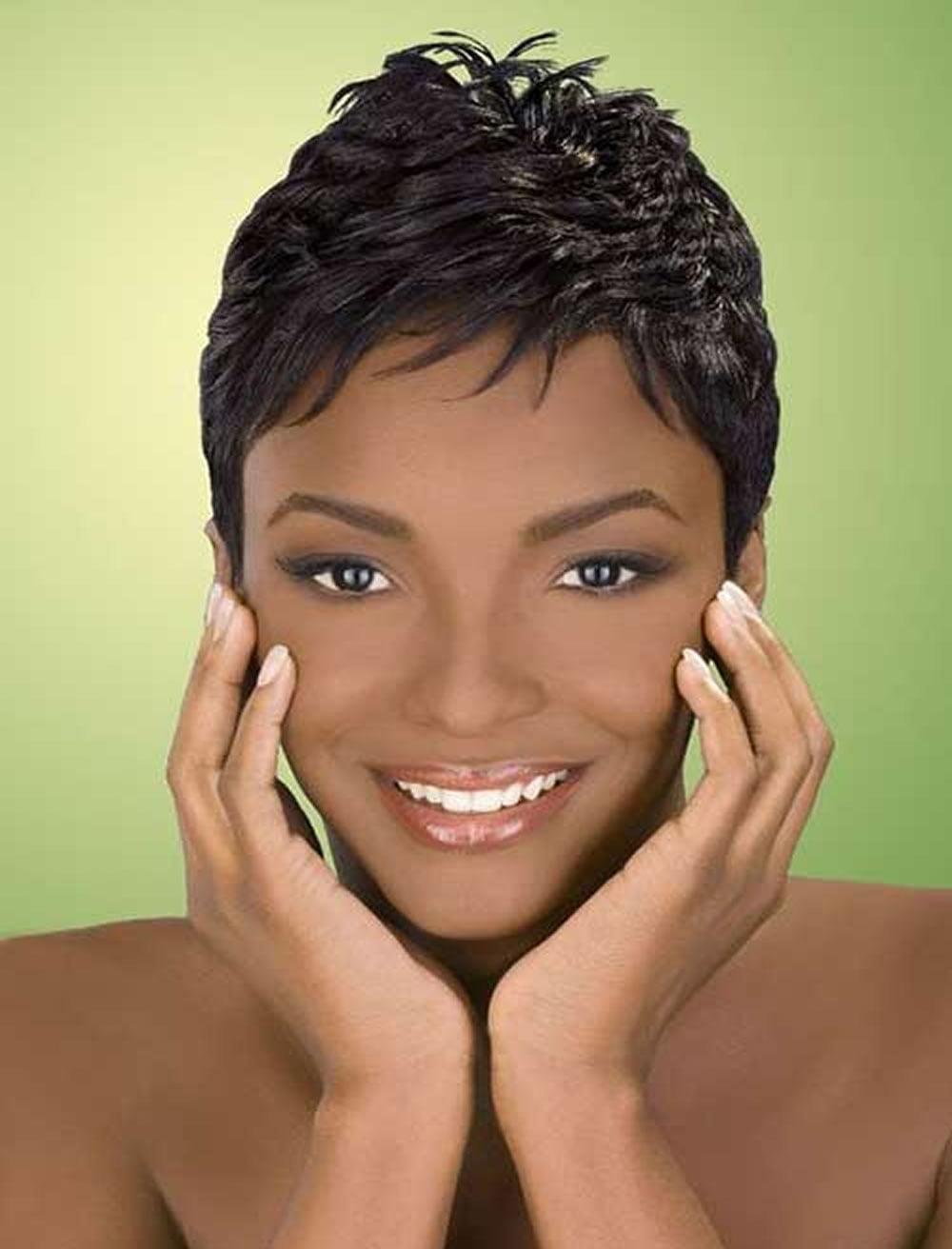 2018 Short Haircuts for Black Women - 67 Pixie Short Black Hair ideas - Page 10 - HAIRSTYLES