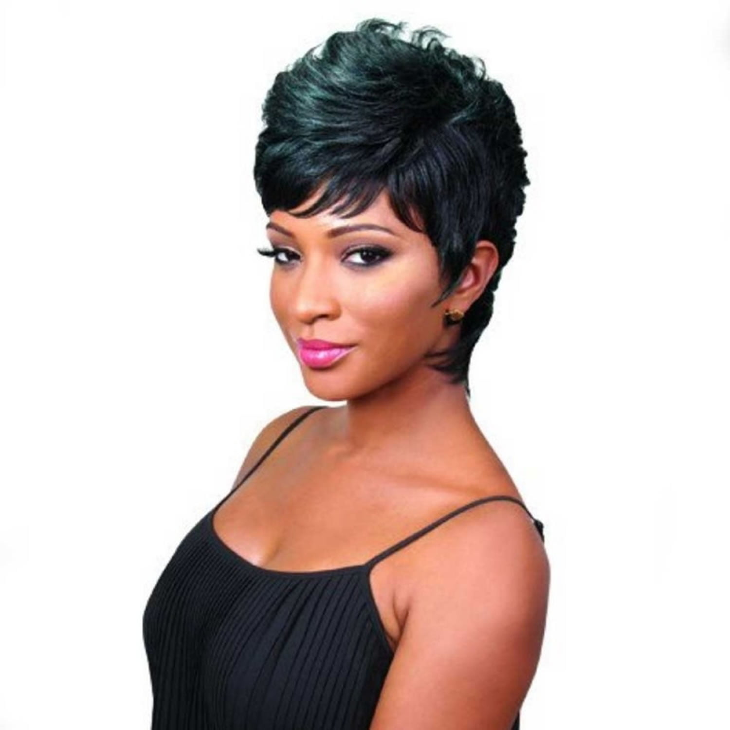 Short Haircuts for Black Women - 72 Pixie Short Black Hair ideas 2021 Update - Page 4 - HAIRSTYLES